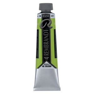 Royal Talens Rembrandt® Artists' Oil Color 40ml Granny Smith Apple Green; Color: Green; Format: Tube; Size: 40 ml; Type: Oil; (model 1056912), price per tube