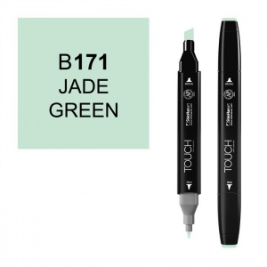 ShinHan Art TOUCH Twin Jade Green Marker: Black, Green, Double-Ended, Alcohol-Based, Refillable, Dual, (model 1110171-B171), price per each