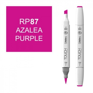 Azalea Purple Marker: White, Purple, Double-Ended, Alcohol-Based, Refillable, Dual, (model 1210087-RP87), price per each