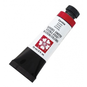 Daniel Smith Extra Fine™ Watercolor 15ml Carmine: Red/Pink, Tube, 15 ml, Watercolor, (model 284600020), price per tube