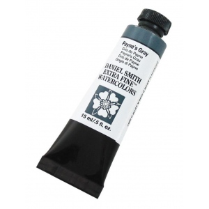 Daniel Smith Extra Fine™ Watercolor 15ml Payne's Gray: Black/Gray, Tube, 15 ml, Watercolor, (model 284600065), price per tube