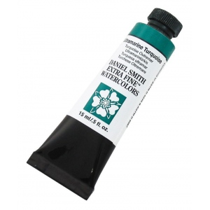 Daniel Smith Extra Fine™ Watercolor 15ml Ultramarine Turquoise: Blue, Tube, 15 ml, Watercolor, (model 284600105), price per tube