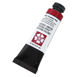 Daniel Smith Extra Fine™ Watercolor 15ml Italian Venetian Red: Red/Pink, Tube, 15 ml, Watercolor, (model 284600122), price per tube
