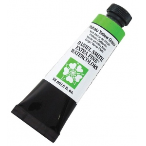 Daniel Smith Extra Fine™ Watercolor 15ml Phthalo Yellow Green: Green, Tube, 15 ml, Watercolor, (model 284600124), price per tube