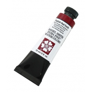 Daniel Smith Extra Fine™ Watercolor 15ml English Red Earth: Red/Pink, Tube, 15 ml, Watercolor, (model 284600137), price per tube