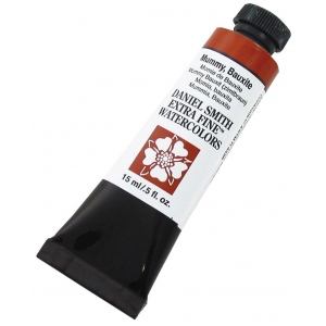 Daniel Smith Extra Fine™ Watercolor 15ml Mummy Bauxite: Brown, Tube, 15 ml, Watercolor, (model 284600166), price per tube
