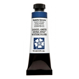 Daniel Smith Extra Fine™ Watercolor 15ml Sodalite Genuine: Blue, Tube, 15 ml, Watercolor, (model 284600179), price per tube