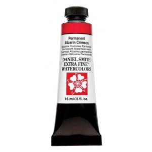 Daniel Smith Extra Fine™ Watercolor 15ml Permanent Alizarin Crimson: Red/Pink, Tube, 15 ml, Watercolor, (model 284600185), price per tube