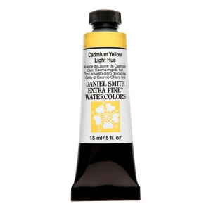 Daniel Smith Extra Fine™ Watercolor 15ml Cadmium Yellow Light Hue: Yellow, Tube, 15 ml, Watercolor, (model 284600192), price per tube
