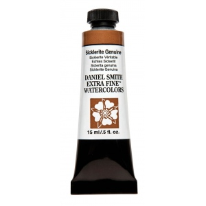Daniel Smith Extra Fine™ Watercolor 15ml Sicklerite Genuine: Brown, Tube, 15 ml, Watercolor, (model 284600209), price per tube
