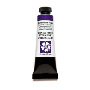 Daniel Smith Extra Fine™ Watercolor 15ml Quinacridone Purple: Purple, Tube, 15 ml, Watercolor, (model 284600225), price per tube