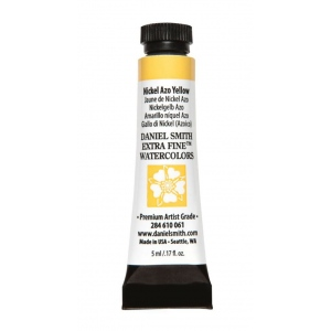 Daniel Smith Extra Fine™ Watercolor 5ml Nickel Azo Yellow: Yellow, Tube, 5 ml, Watercolor, (model 284610061), price per tube