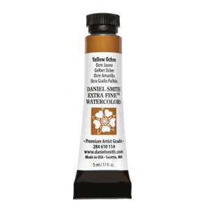 Daniel Smith Extra Fine™ Watercolor 5ml Yellow Ochre: Yellow, Tube, 5 ml, Watercolor, (model 284610114), price per tube