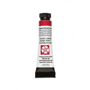 Daniel Smith Extra Fine™ Watercolor 5ml Permanent Alizarin Crimson: Red/Pink, Tube, 5 ml, Watercolor, (model 284610185), price per tube