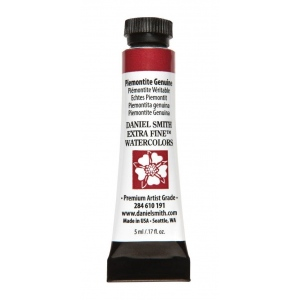 Daniel Smith Extra Fine™ Watercolor 5ml Piemontite Genuine: Red/Pink, Tube, 5 ml, Watercolor, (model 284610191), price per tube