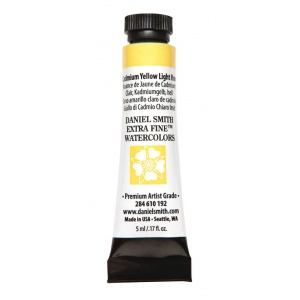 Daniel Smith Extra Fine™ Watercolor 5ml Cadmium Yellow Light Hue: Yellow, Tube, 5 ml, Watercolor, (model 284610192), price per tube