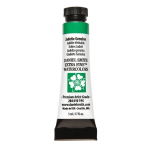 Daniel Smith Extra Fine™ Watercolor 5ml Jadeite Genuine: Green, Tube, 5 ml, Watercolor, (model 284610195), price per tube