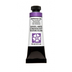 Daniel Smith Extra Fine™ Watercolor 15ml Interference Lilac: Purple, Tube, 15 ml, Watercolor, (model 284640005), price per tube