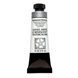 Daniel Smith Extra Fine™ Watercolor 15ml Pearlescent Shimmer: Pearlescent, Tube, 15 ml, Watercolor, (model 284640024), price per tube