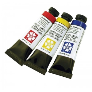 Daniel Smith Extra Fine™ Watercolor Primary Edition 3-Color Set: Watercolor, (model 285250066), price per each