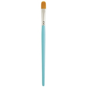 Princeton™ Select™ Artiste Synthetic Filbert 6 Brush: Short Handle, Synthetic, Filbert, 6, Multi, (model 3750FB-6), price per each