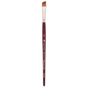 Princeton™ Velvetouch™ Synthetic Mixed Media Angular Shader 012 3/8 Brush: Short Handle, Luxury Synthetic, Angular Shader, 012, Multi, (model 3950AS012), price per each