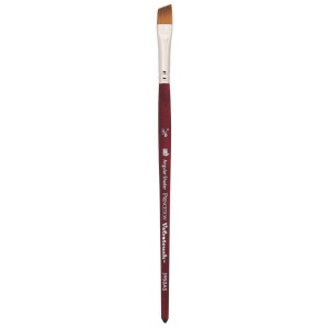 Princeton™ Velvetouch™ Synthetic Mixed Media Angular Shader 037 3/8 Brush: Short Handle, Luxury Synthetic, Angular Shader, 037, Multi, (model 3950AS037), price per each