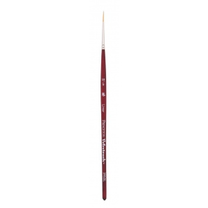 Princeton™ Velvetouch™ Synthetic Mixed Media Liner 10/0 Brush: Short Handle, Luxury Synthetic, Liner, 100, Multi, (model 3950L100), price per each