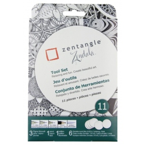 Pigma® Micron® Zentangle® Tile Set