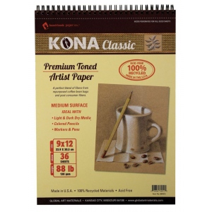 Hand Book Journal Co.™ Kona Tan Artist Paper Pad