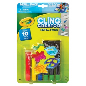 Crayola® Cling Creator Refill Pack: 8+, Children's Art Kit, (model 74-7093), price per each