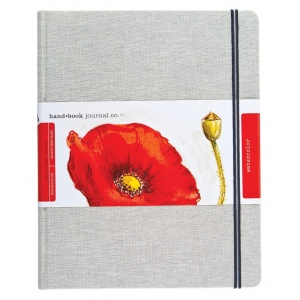 Hand Book Journal Co.™ Travelogue Series Linen Watercolor Journals