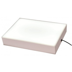 "Porta-Trace® LED ABS Plastic Light Box: Plexiglas, 8""l x 10""w x 2""h, (model 810ABSLED), price per each"