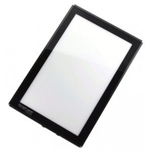 "Porta-Trace® 8"" x 11"" The Light Panel™ (LED Light/Black Frame): Black/Gray, Plexiglas, 8"" x 11"", (model 811LPBLK), price per each"
