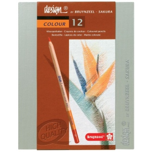 Bruynzeel Design Colored Pencil 12-Set