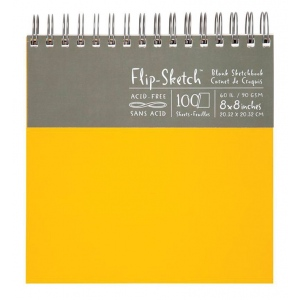 Hand Book Journal Co.™ Flip-Sketch™ Wire-Bound Sketchbook