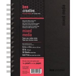 Bee Paper® Bee Creative Mixed Media Book