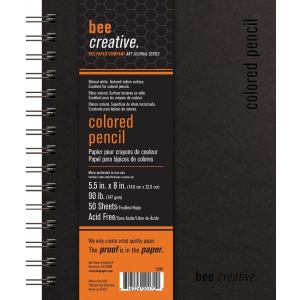Bee Paper® Bee Creative Colored Pencil Book