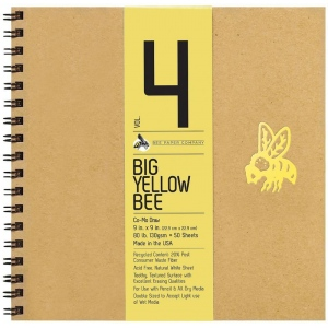 Bee Paper® Big Yellow Bee Co-Mo Draw Paper Pad