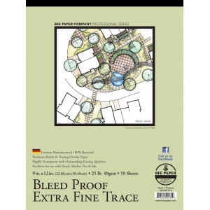 Bee Paper® Bleed Proof Extra Fine Trace Pad