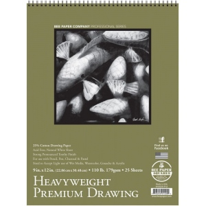 Bee Paper® Heavyweight Premium Drawing Pad