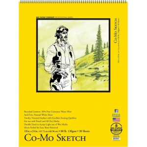 Bee Paper® Co-Mo Sketch Pads