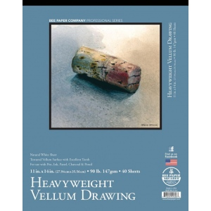 Bee Paper® Heavyweight Vellum Drawing Pad