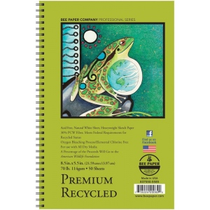 Bee Paper® Premium Recycled Sketch Pad