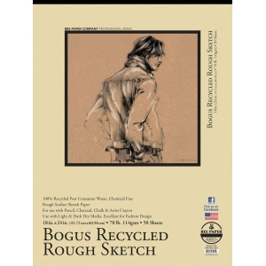 Bee Paper® Bogus Recycled Rough Sketch Pad