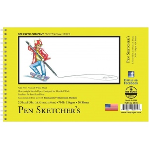 Bee Paper® Pen Sketcher's Pad