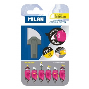 Milan® MILAN® Capsule Ceramic Refill Blades: Ceramic, Replacement Part, General Purpose, Replacement Blade, (model BTM10338), price per each
