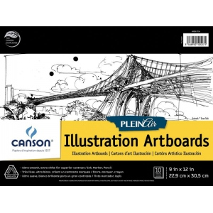 Canson® Plein Air Plein Air Illustration Artboard Pad (Glue Bound)