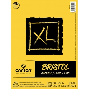 Canson® XL® Smooth Bristol Pad (Fold Over)
