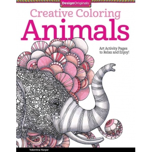 Design Originals Animals Creative Coloring Books for Adults